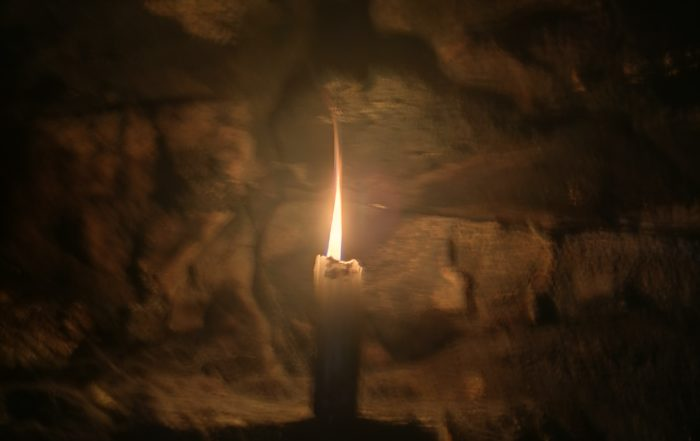 Candle in the Cave